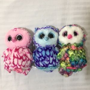 TY Beanie Boos Owls